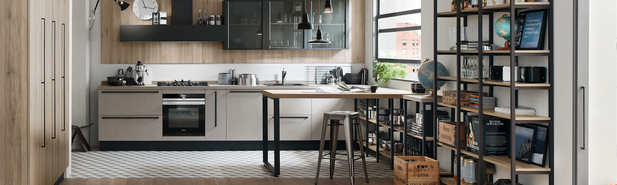 Veneta Cucine: Metropolitan - Company news, Focus on | Interior Mebel